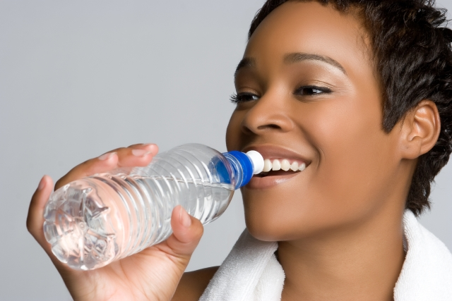 Drinking clean water every day is healthy for the body