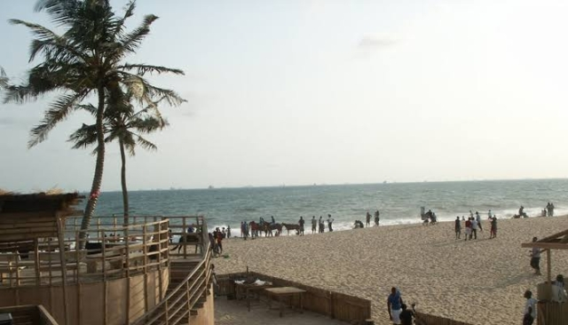 The famous Elegushi Beach