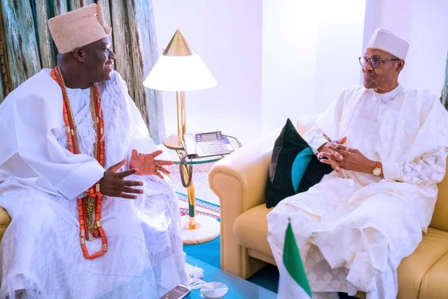 Ooni and Buhari