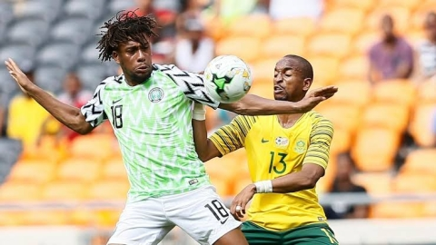 Nigeria Vs South Africa: Starting Line-ups For Both Teams
