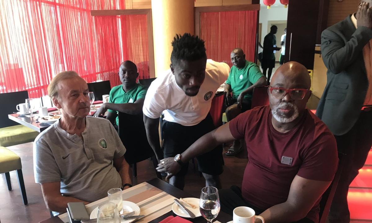 """""""Gernot Rohr Will Not Be Sacked As Super Eagles Coach"""" - Amaju Pinnick"""