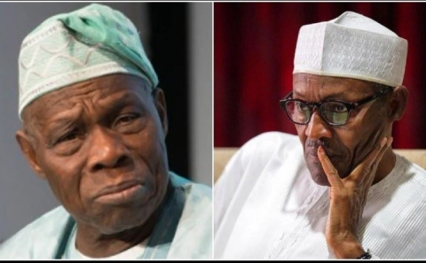 Olusegun Obasanjo and Muhammadu Buhari