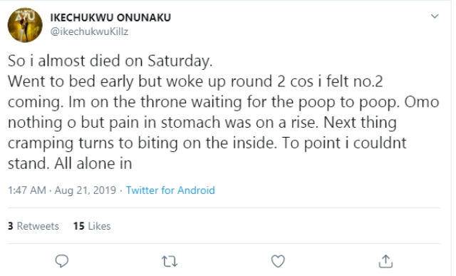 Rapper Ikechukwu Narrates How Uber Driver Helped Him Survive Acute Food Poisoning