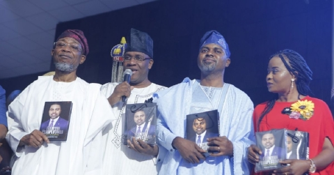 Eminent Personalities Grace Segun Olulade's Book Launch (Photos)