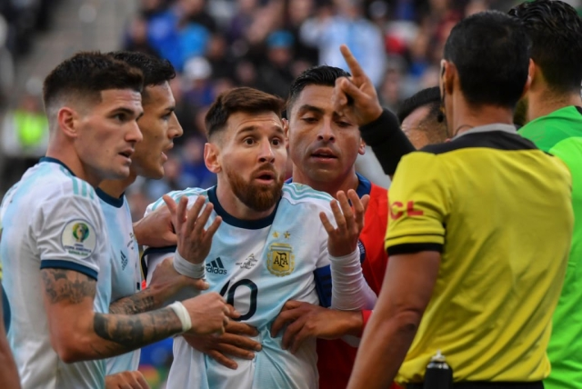 Lionel Messi Banned From International Football For Three Months