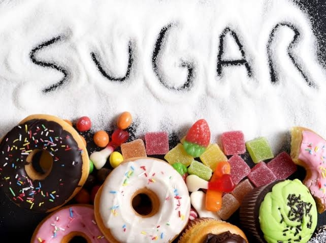 High consumption of sugar can have negative implications on the skin