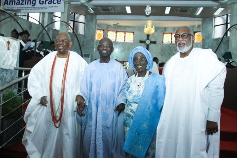 Prof. Gabriel Olawoyin, SAN Hosts 80th Birthday Celebration In Lagos