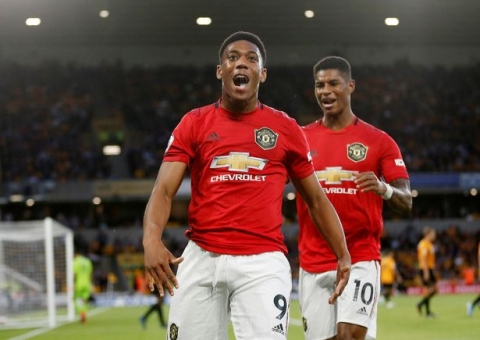 Anthony Martial Speaks On Rivalry Between Him And Marcus Rashford