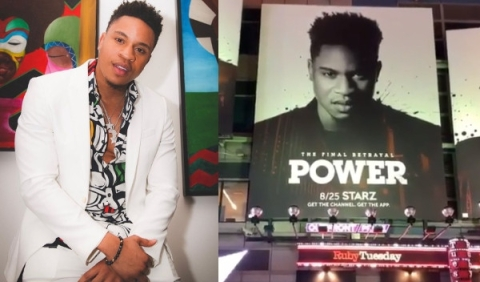 'Dreams Come True' - Power Star, Olurotimi Akinosho Delighted At Having His Face On Times Square
