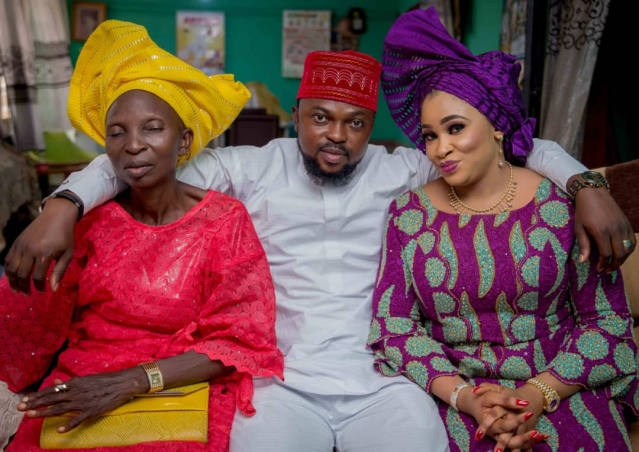 See Photos From Toyin Abraham And Kolawole Ajeyemi's Engagement