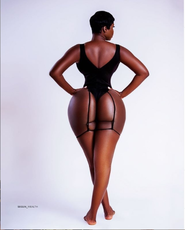 Princess Shyngle Shares More Alluring Photos Of Her Behind