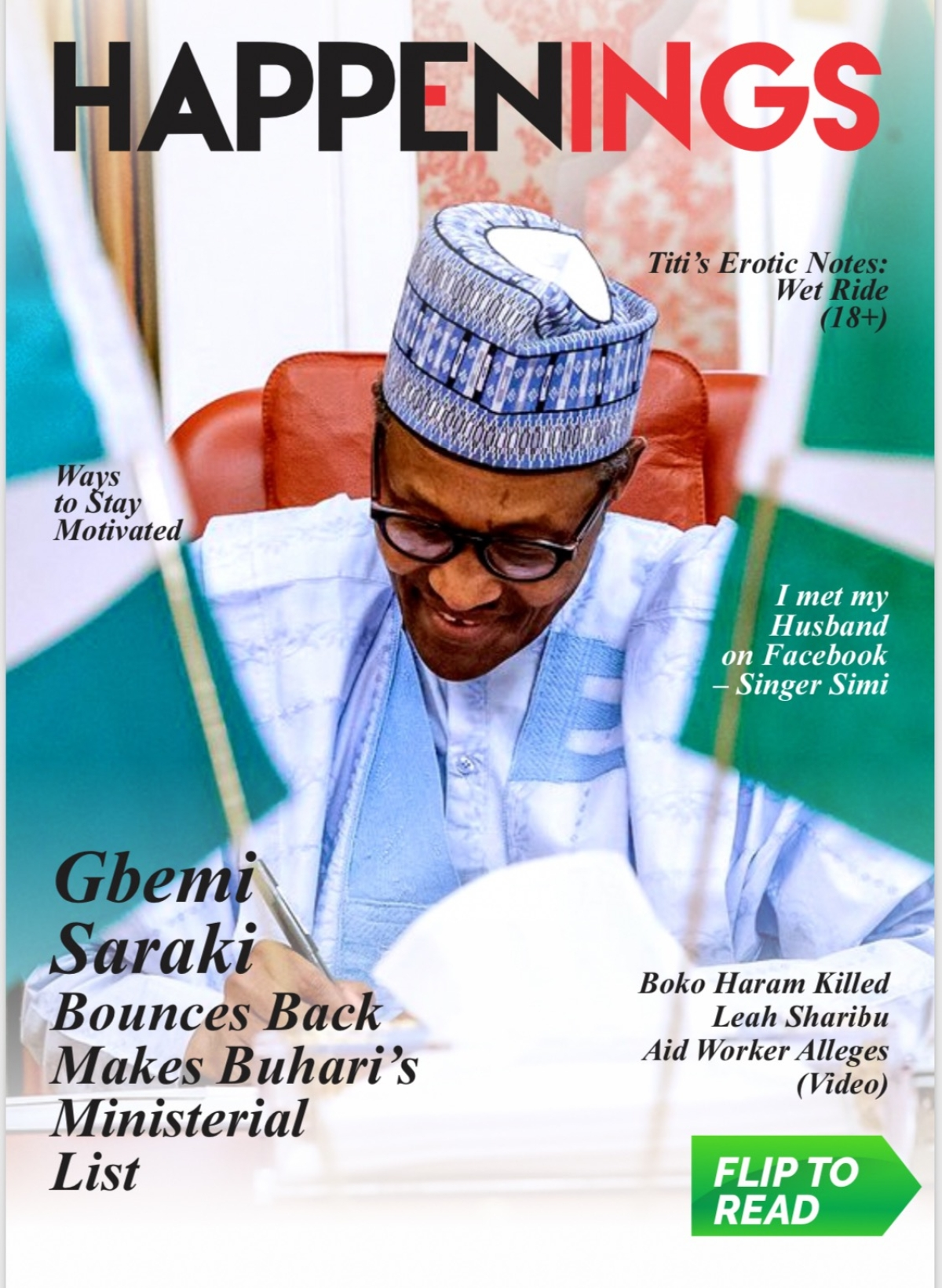 Happenings Newsletter: Much Ado About Buhari's Ministerial List