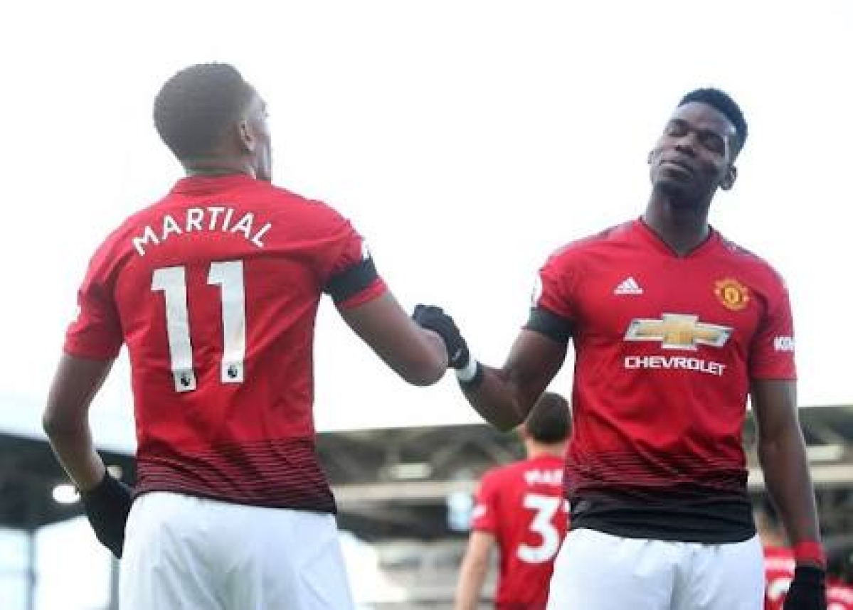Pogba, Shaw And Martial To Miss West Ham Clash