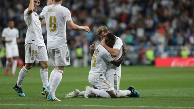 Goals From Vinicius And Rodrygo Send Real Madrid To The Top Of La Liga