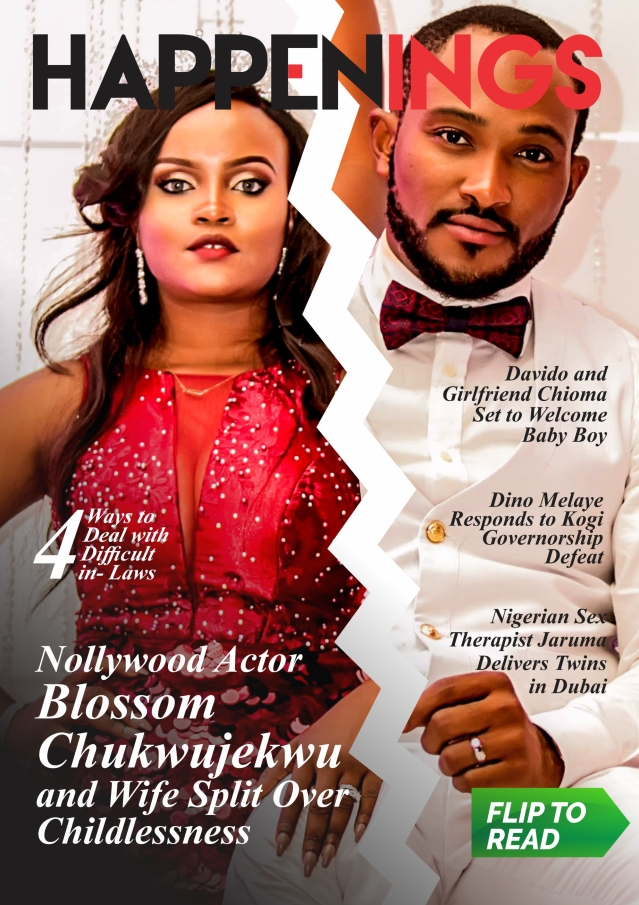 Happenings Newsletter: Nollywood Actor Blossom Chukwujekwu and wife, Maureen Split!