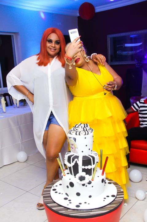Lagos Socialite, Jennifer Nwaonu, Hosted To A Surprise Party On Her Birthday (Photos)