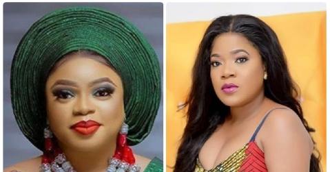 Toyin Abraham And Bobrisky Start A War On Instagram