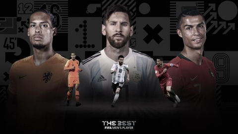 FIFA The Best Awards: All The Nominees Revealed
