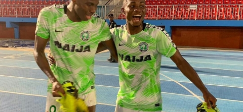 Osimhen, Iwobi and Chukwueze And 15 Others In Eagles Camp For Ukraine Friendly