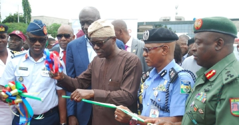 Sanwo-Olu Hands Over 120 Patrol Vehicles, 35 Motorcycles To Security Operatives