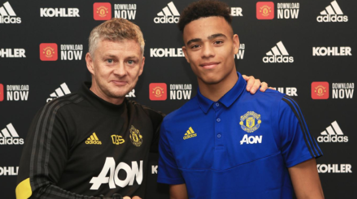 Mason Greenwood Signs New Manchester United Contract