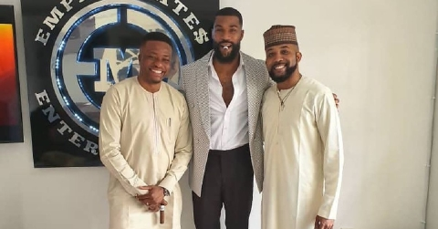 Capt. Demuren, BBNaija's Mike, and Banky W