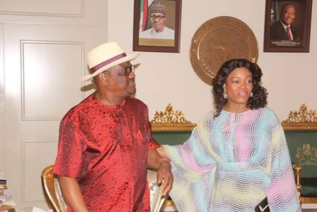 Wike and wife