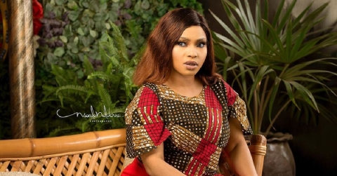 Halima Abubakar Exposes Troll Who Wished Death On Her