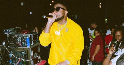 Davido Reveals Sex Of Unborn Child