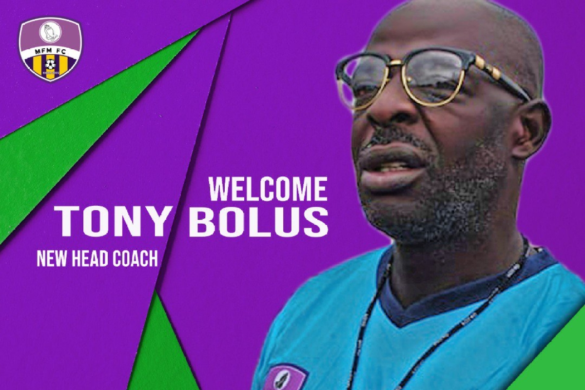 MFM Boss Denies Sacking Head Coach, Tony Bolus