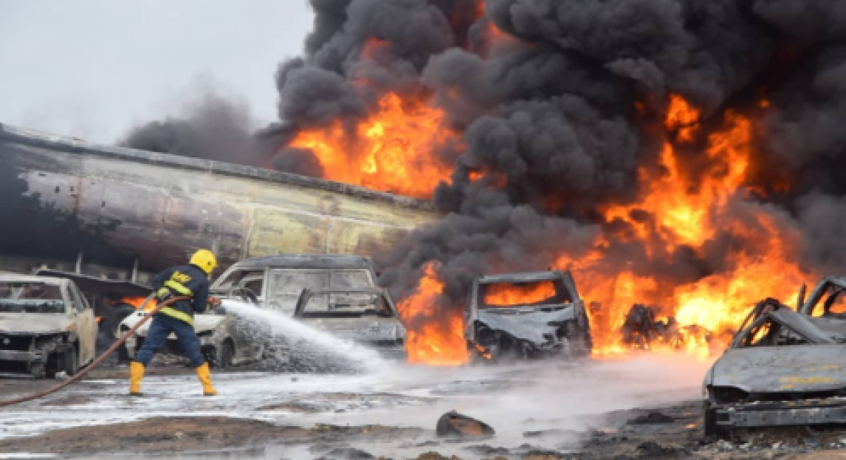 Two Dead, Six Injured In Tanker Explosion