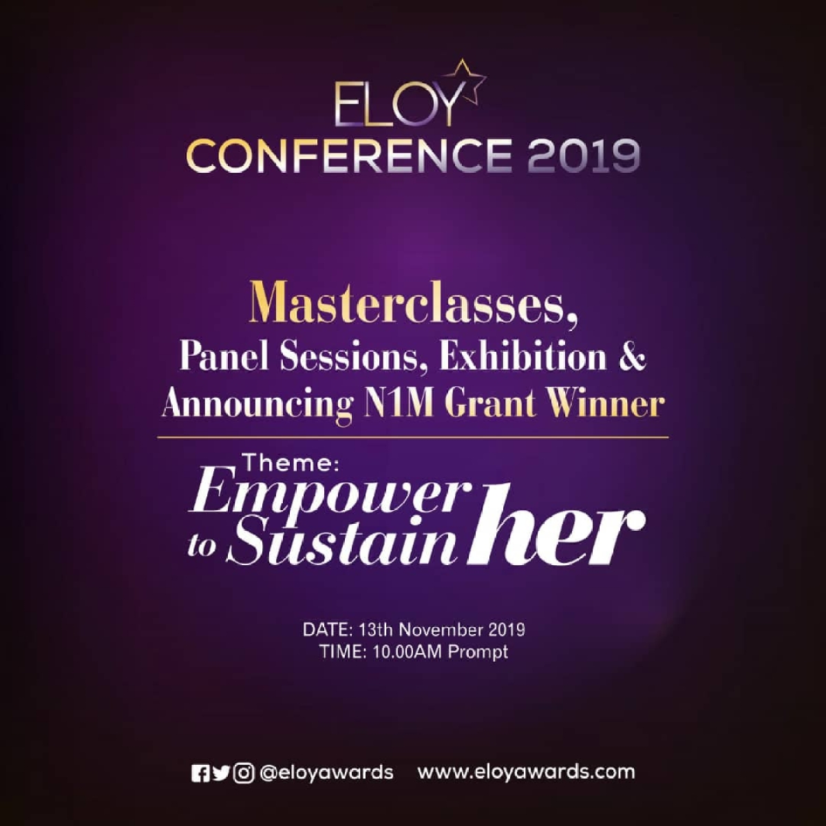 ELOY Awards And Conference 2019 Set To Hold In November