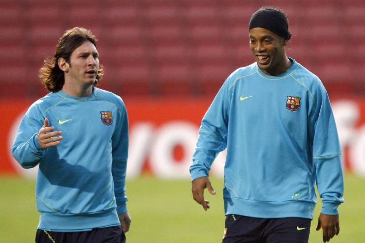 Ronaldinho: Messi Isn't The Best In History, But Of His Time