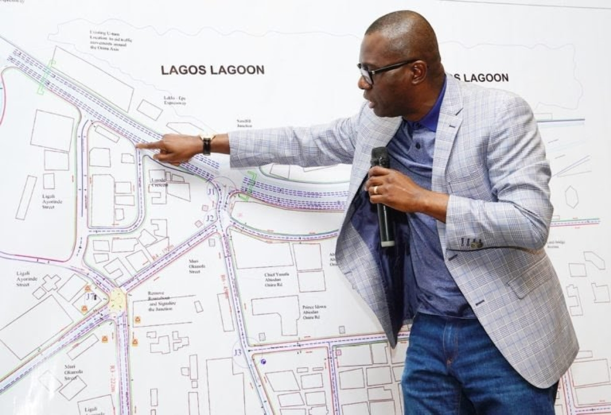 Governor Sanwo-Olu Projects 2021 For Blue Line Rail Operation