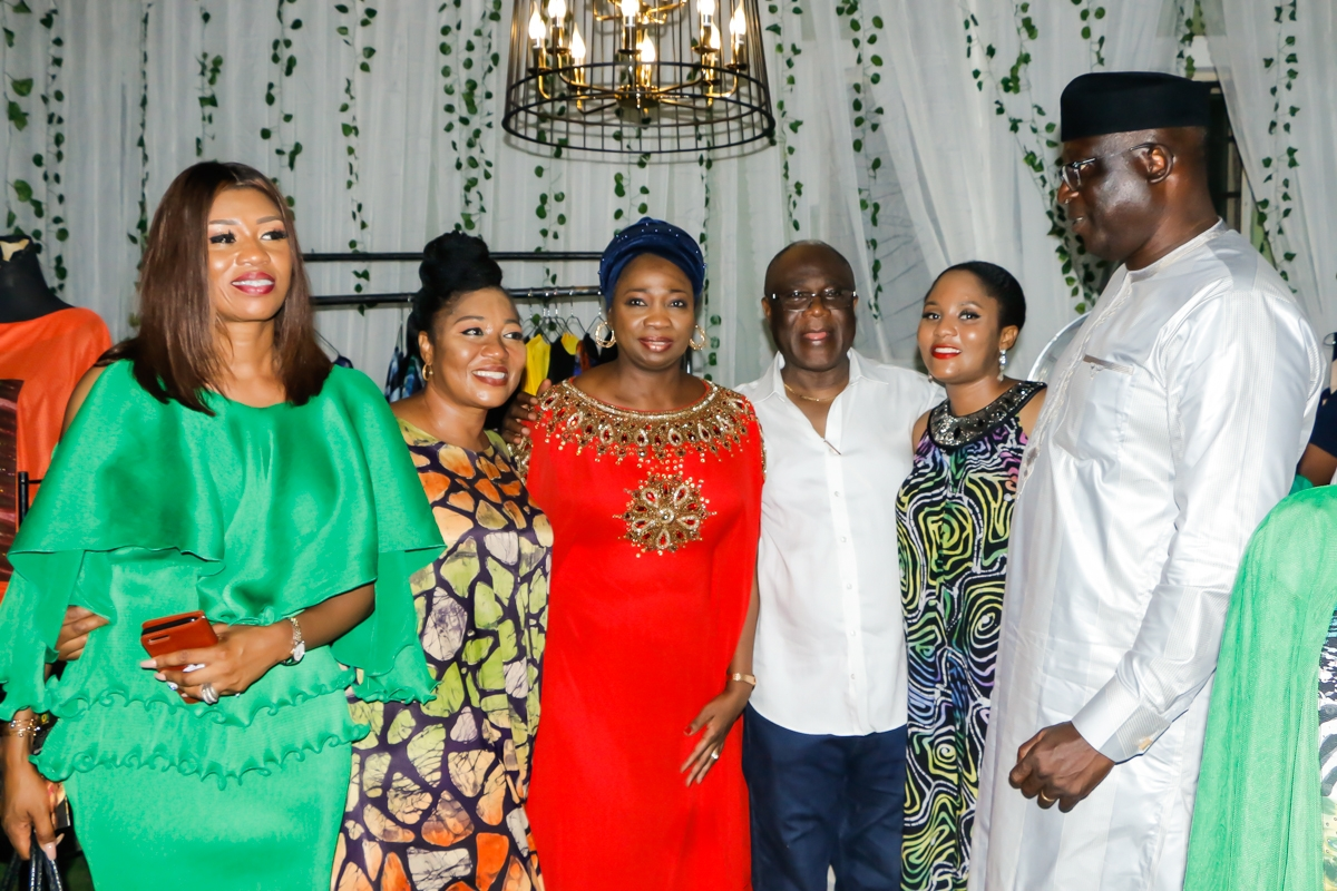 Funmi, husband and others