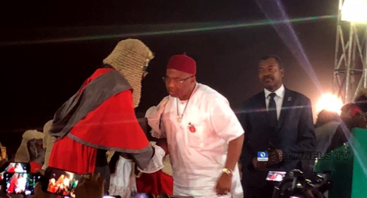 Uzodinma Sworn-in As Imo State Governor