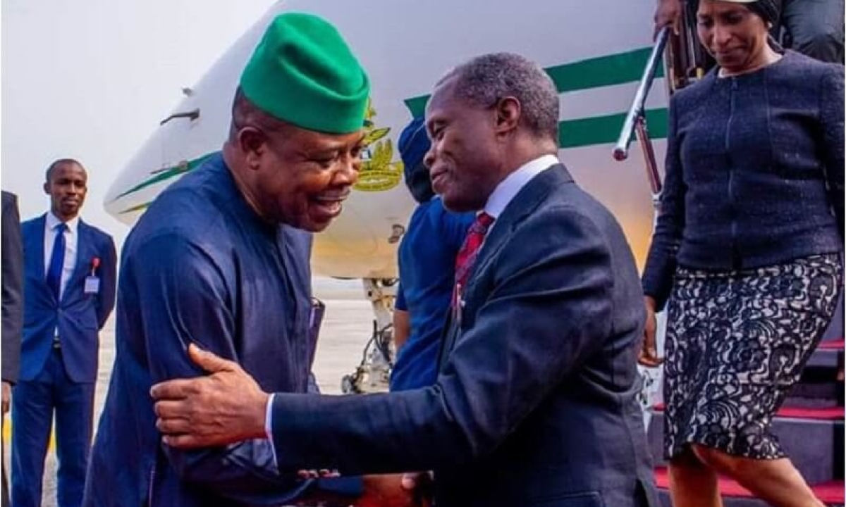 I Was Not Involved In Ihedioha's Sack – Osinbajo