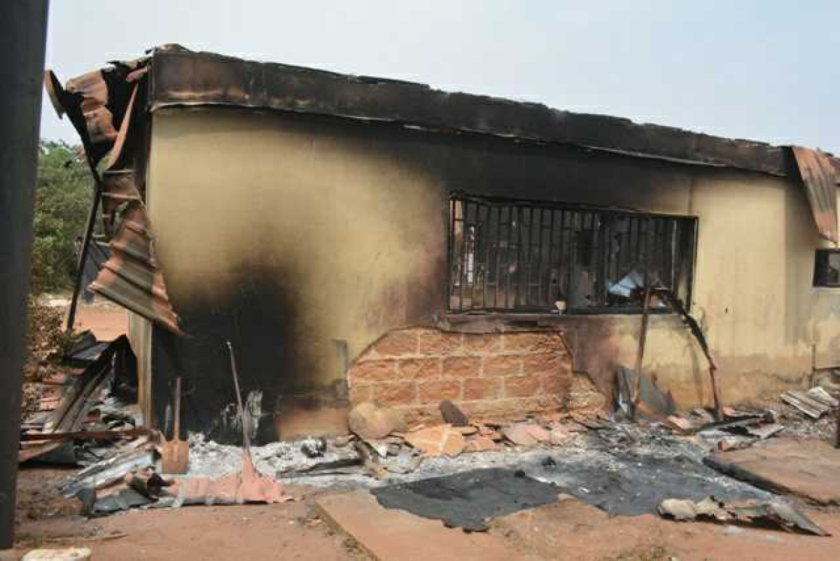 INEC Office Razed Down By Fire In Imo State