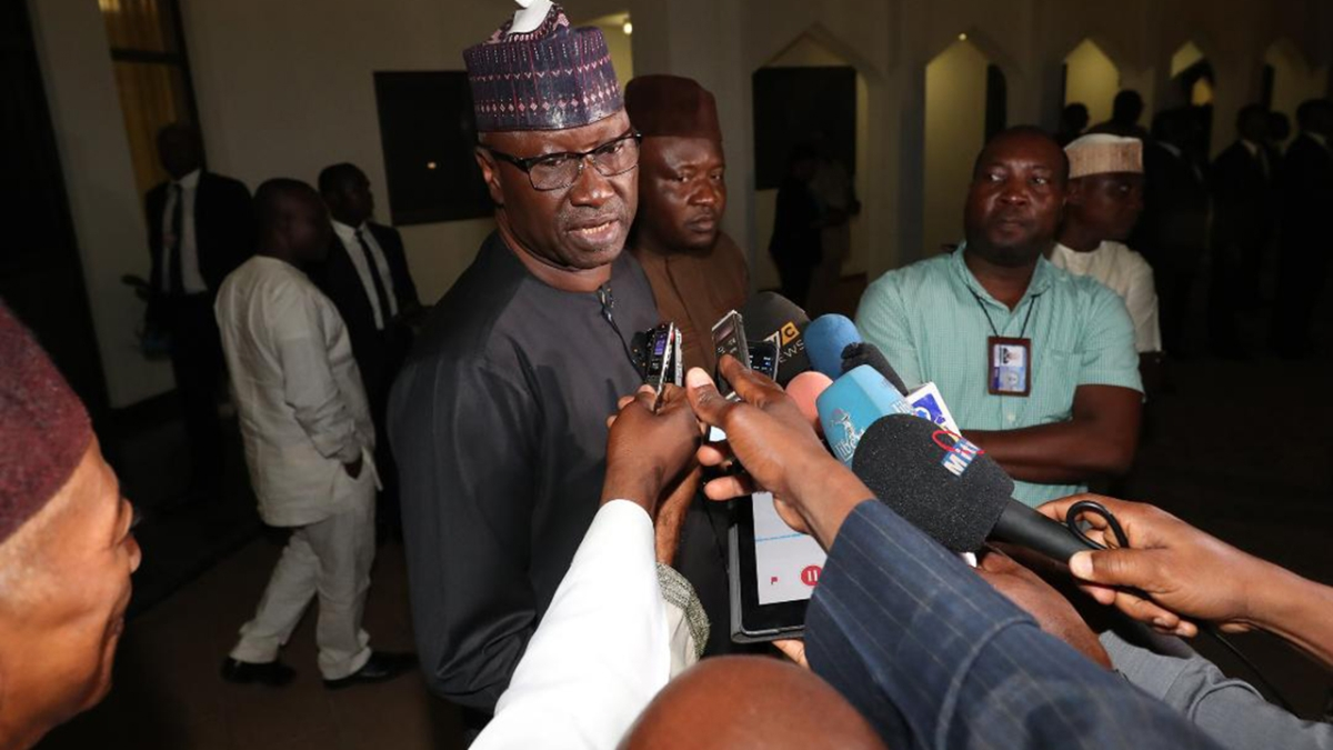You Don't Sack People Like That - Boss Mustapha