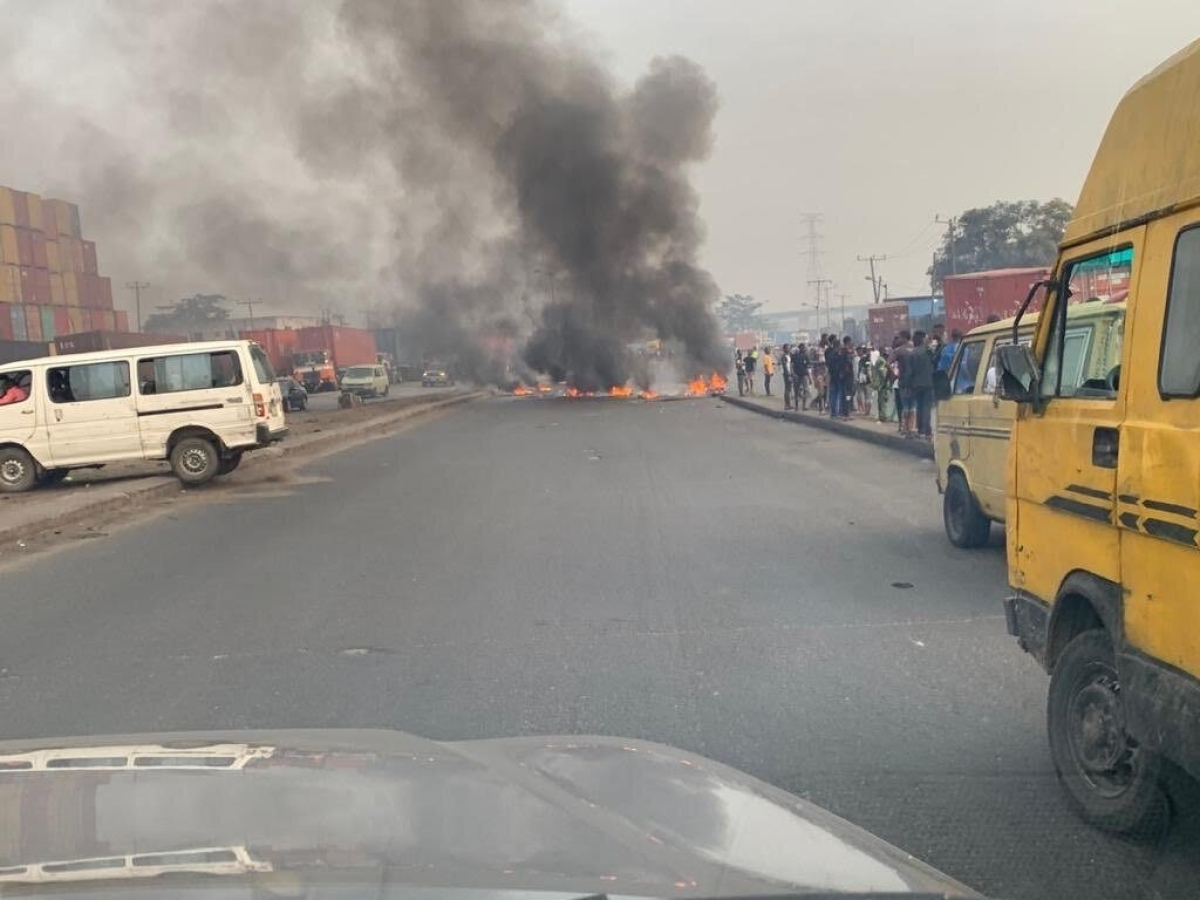 3 Feared Dead As Police Clash With Motorcyclists Over Ban In Lagos