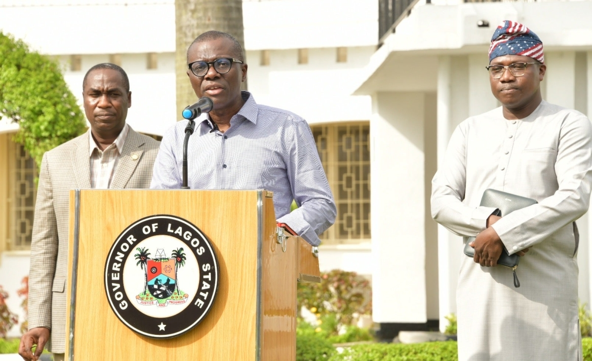 Why We Shut Down Banks, Markets And Others - Sanwo-Olu