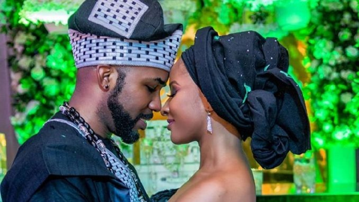 Adesua Etomi Continues To Support Banky W Amidst Cheating Rumours