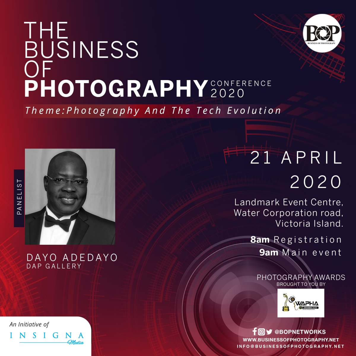 Business Of Photography Conference: Photography And The Tech Evolution