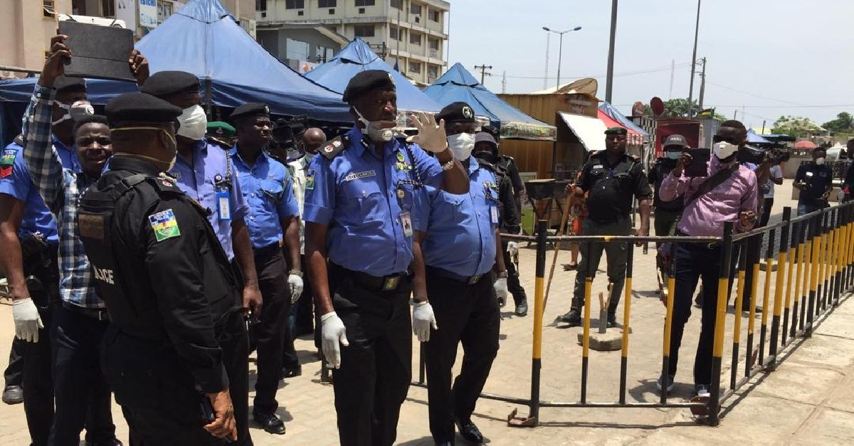 CP Odumosu Checks Level Of Compliance By Markets, Others In Lagos