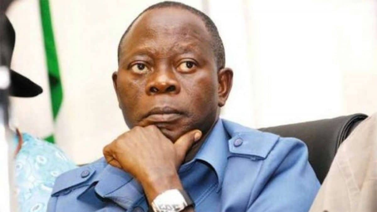 I'll Reconcile My Style In The Interest Of Peace - Oshiomhole
