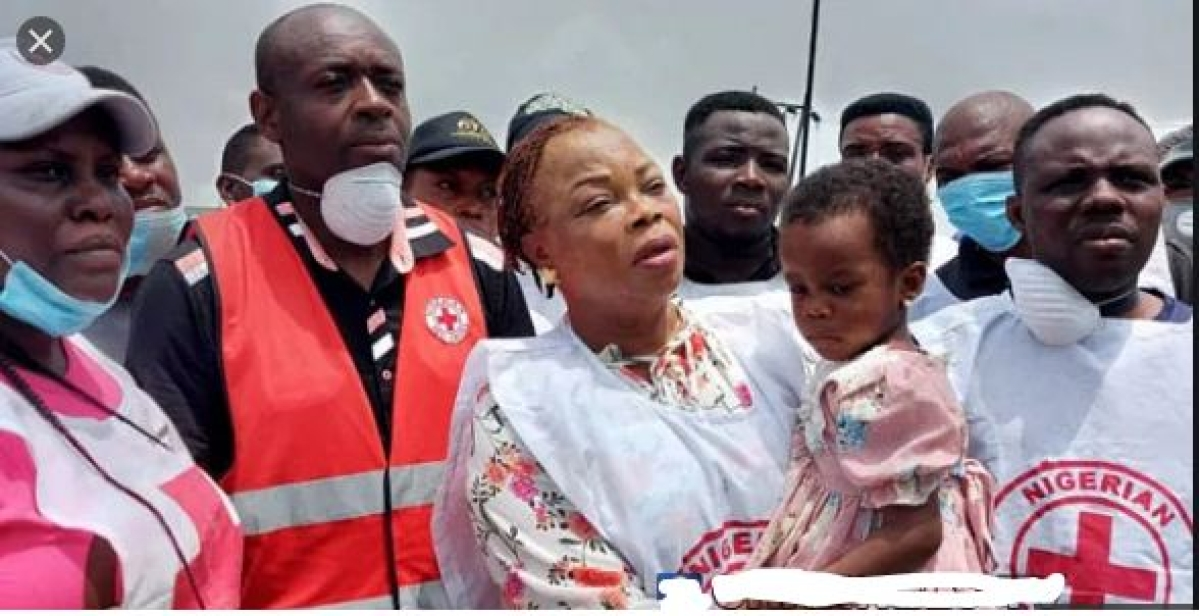 3-Year-Old Girl Rescued From Rubbles After Lagos Explosion