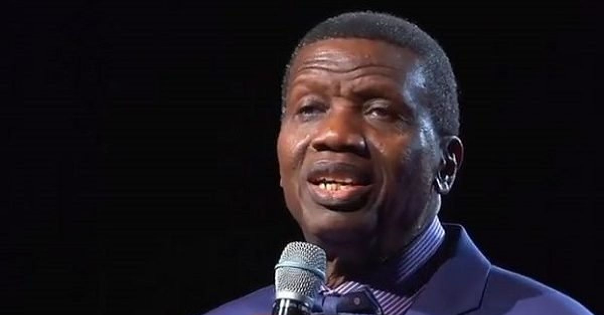 """""""The Pandemic Will Soon End,"""" Pastor Adeboye Says"""