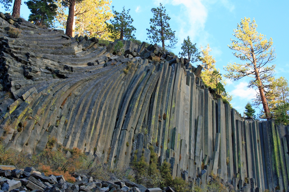 Devils Postpile National Monument in California, USA