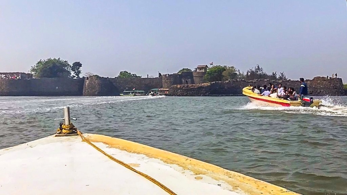 The Kolaba Fort- Once the base of the Maratha navy