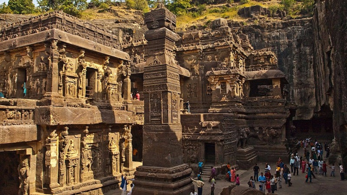 The Kailash Temple at Ellora